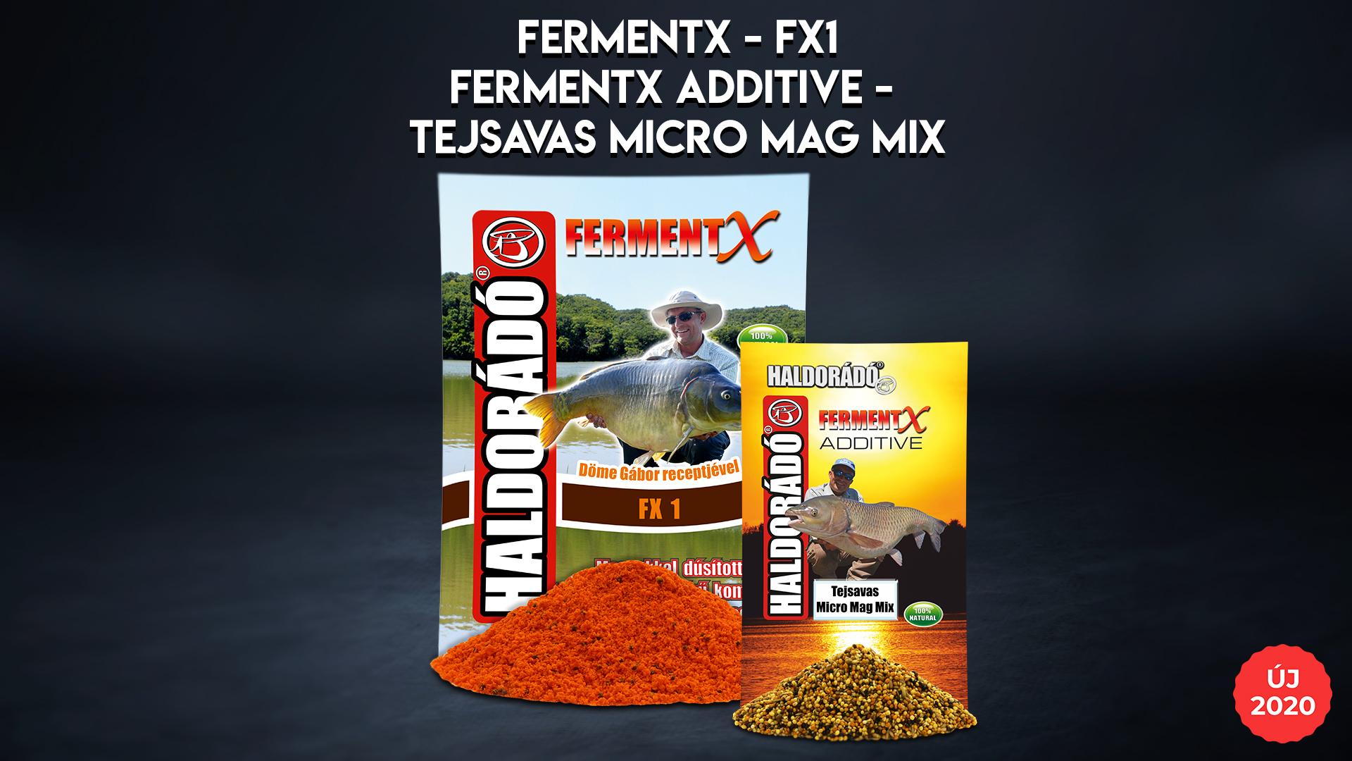 Két szuper újdonságot hoztunk forgalomba már a tavalyi év nyarán, melyek a FermentX FX 1 etetőanyag, illetve a FermentX Additive Tejsavas Micro Mag Mix!