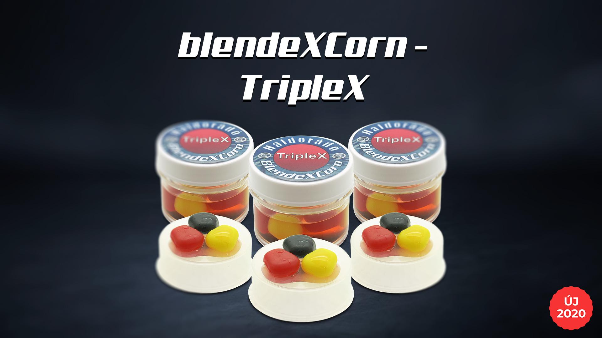 Évek óta töretlen a gumi csalijaink sikere, sőt évről évre nagyobb igény mutatkozik ezek iránt, így a TripleX ízesítést nem hagytuk ki a BlendeXCorn családból sem!