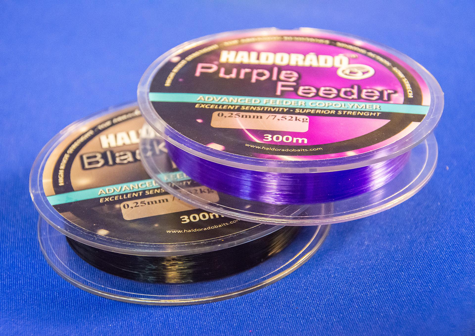 A kéréseket figyelembe véve ettől az évtől feederes zsinórjaink már kaphatóak fekete és lila színben is, válasszátok ki a számotokra legjobban tetszőt!