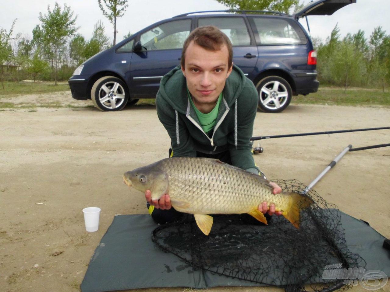 Termetes, 6,5 kg-os jószág volt, mely az általam eddig fogott legnagyobb halak közé sorolható