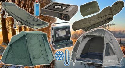 Hasznos táborozási kellékek őszi-téli horgászatokhoz