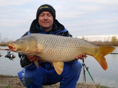Hideg vízi pontyhorgászat feederrel 1. rész - Préri-tavi nagypontyok