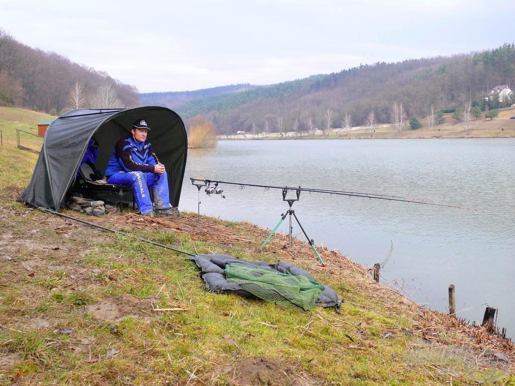 Felüdülés ilyen környezetben a horgászat