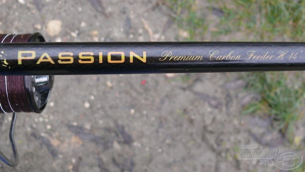 A Spro Passion 420H feederbottal a távoli (85-110 méteres) zónát vettem célba…