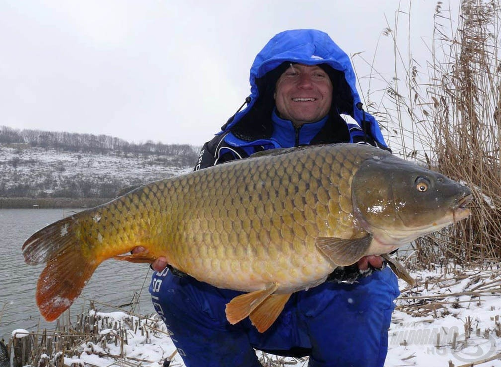 A nap első hala, amely mindjárt 10 kiló feletti!