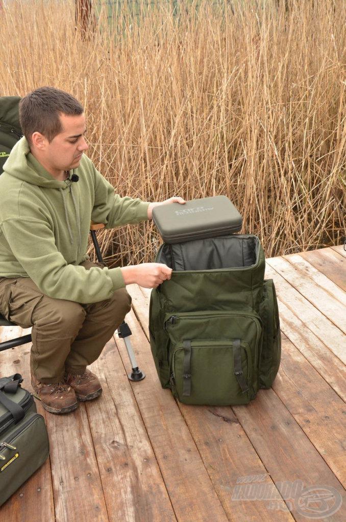 Egy nagyméretű és jó minőségű hátizsák rengeteg felszerelést el tud nyelni