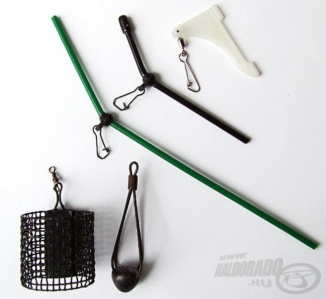 A megfelelő segédeszközökkel az egypontos rögzítésű kosarakat is szerelhetjük csúszósra