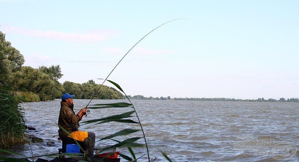 Azért mindezek ellenére halat is fogtam :-)