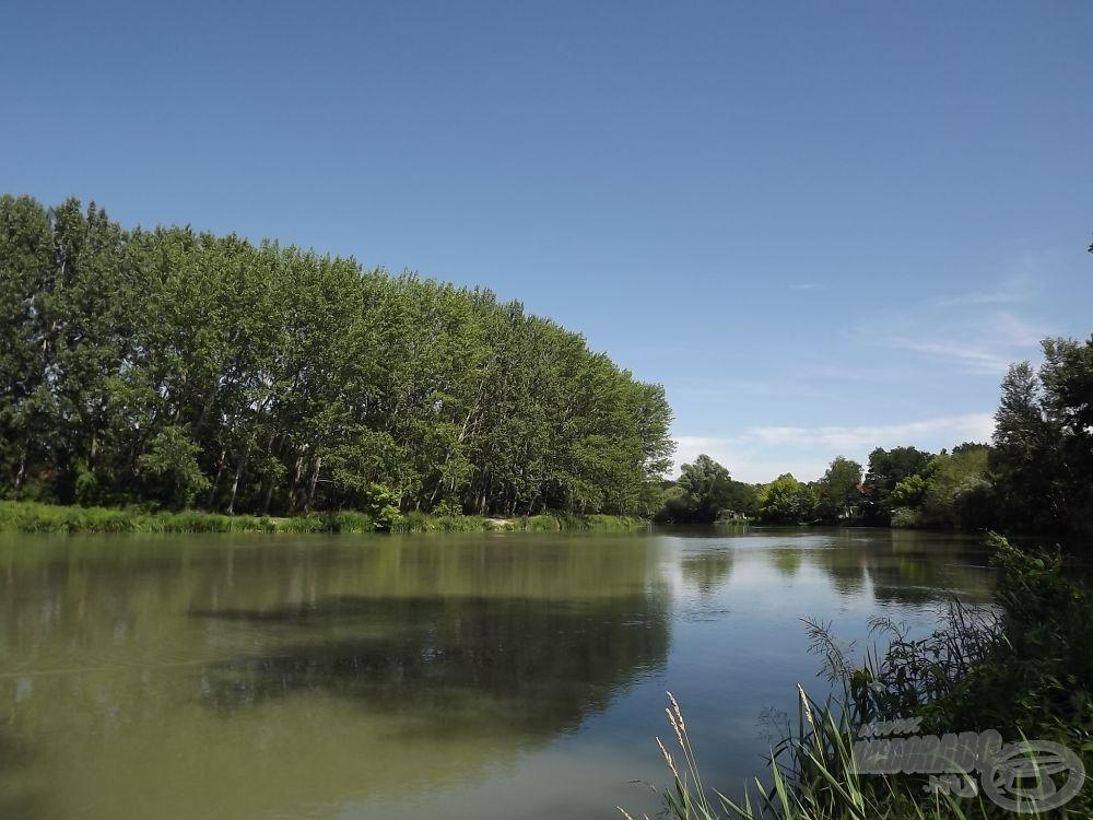 … melynek alvízcsatornája kiváló horgászhely