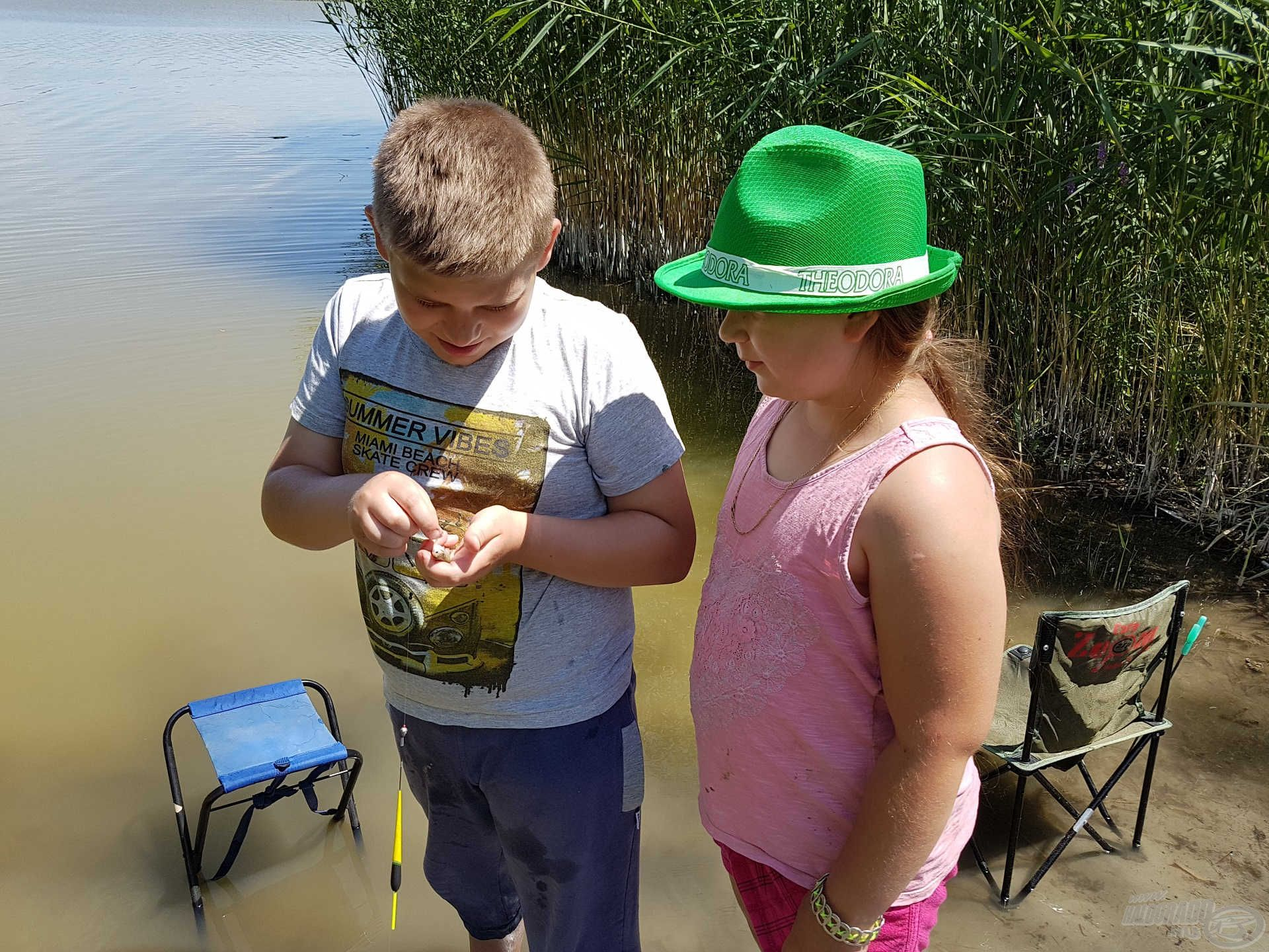 Délutánra ismét a horgászaté volt a főszerep
