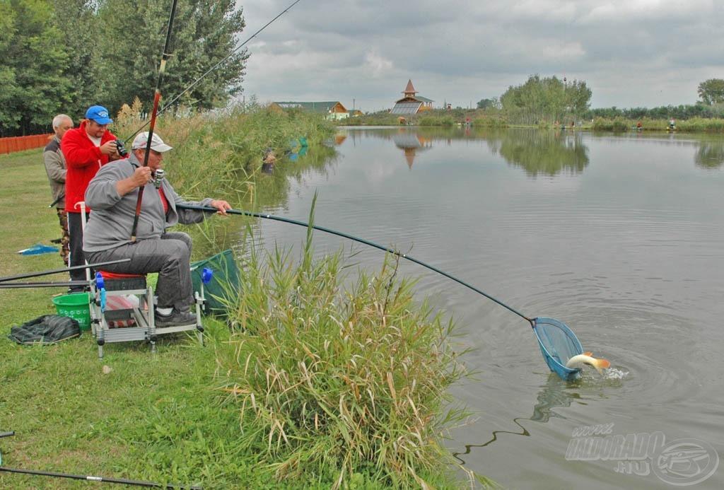 Volt, aki bolognai bottal oldotta meg a pontos horgászatot