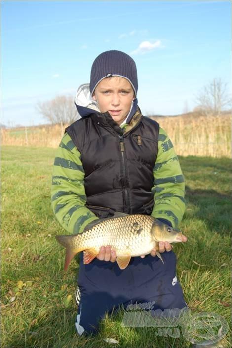 Németh Marci a verseny legfiatalabb versenyzője, aki remekül helytállt az erős mezőnyben