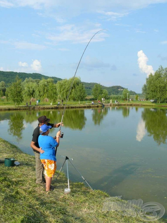 Volt, aki számára már a match botos horgászat sem volt idegen