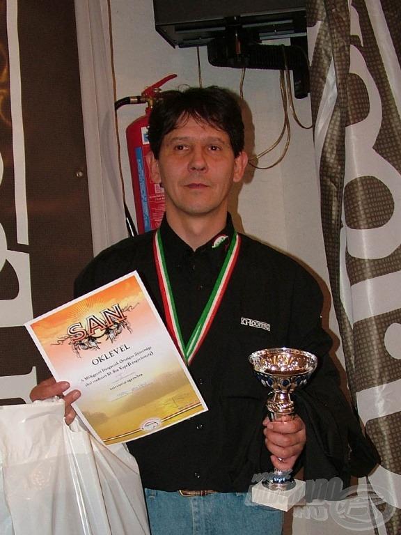 Az első helyezett: Virág Zoltán
