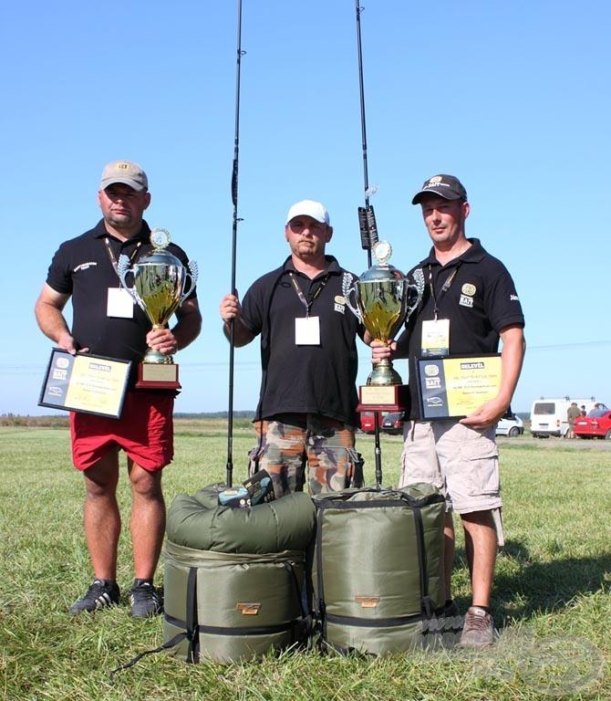 SBS Pontybarátok Team (342,32 kg)