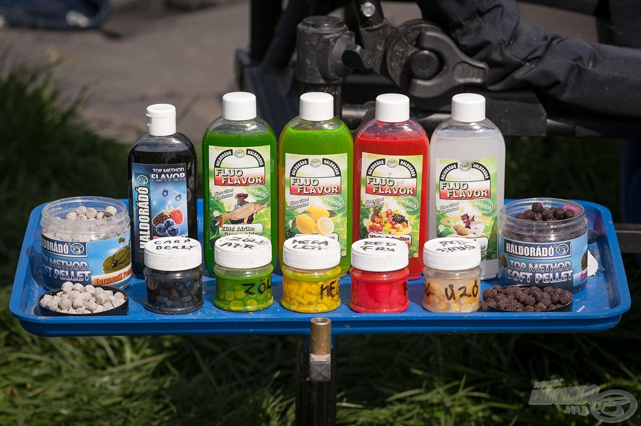 Rendkívül eredményesen használom a Fluo Flavor és a Top Method Flavor aromákkal ízesített csemegekukorica csalikat a hagyományos, valamint a method technikánál egyaránt