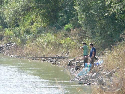 Azért hagyományosan is szeretnek horgászni