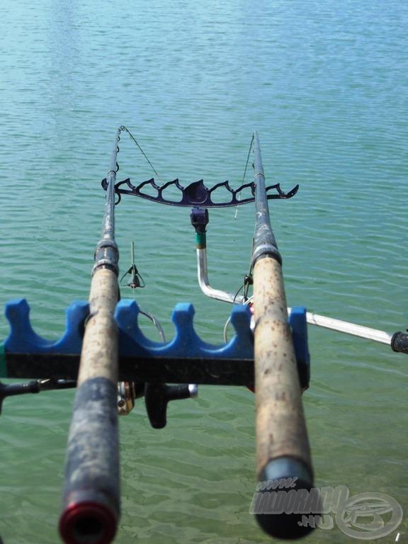 Alapvetően benti horgászatra készültem