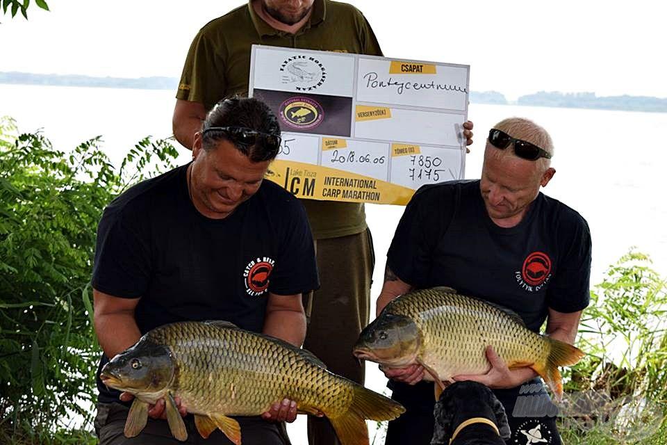 Nem kapitális méretű halak, de egy verseny alatt több helyezést is előrébb léphetünk velük
