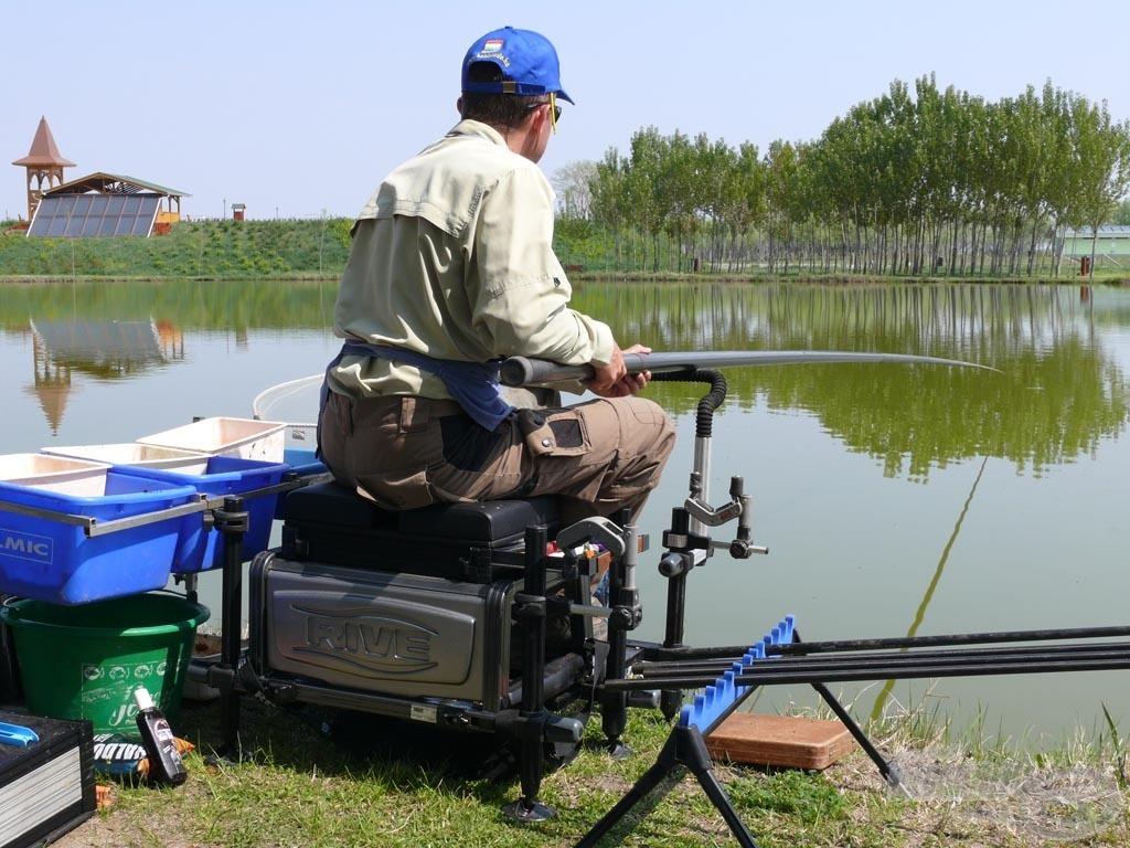 Úszós készséggel, rakós bottal horgásztam rájuk a legeredményesebben