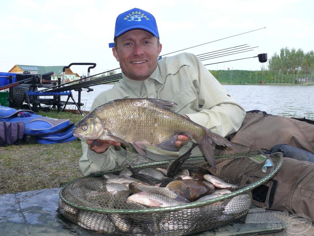 Rendkívül élménydús a horgászat Izsákon