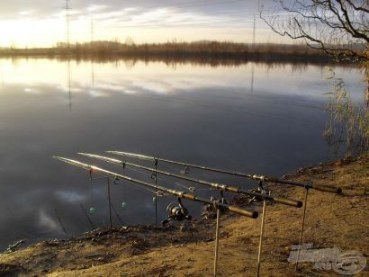 Kalandok a Baráti-horgásztavon