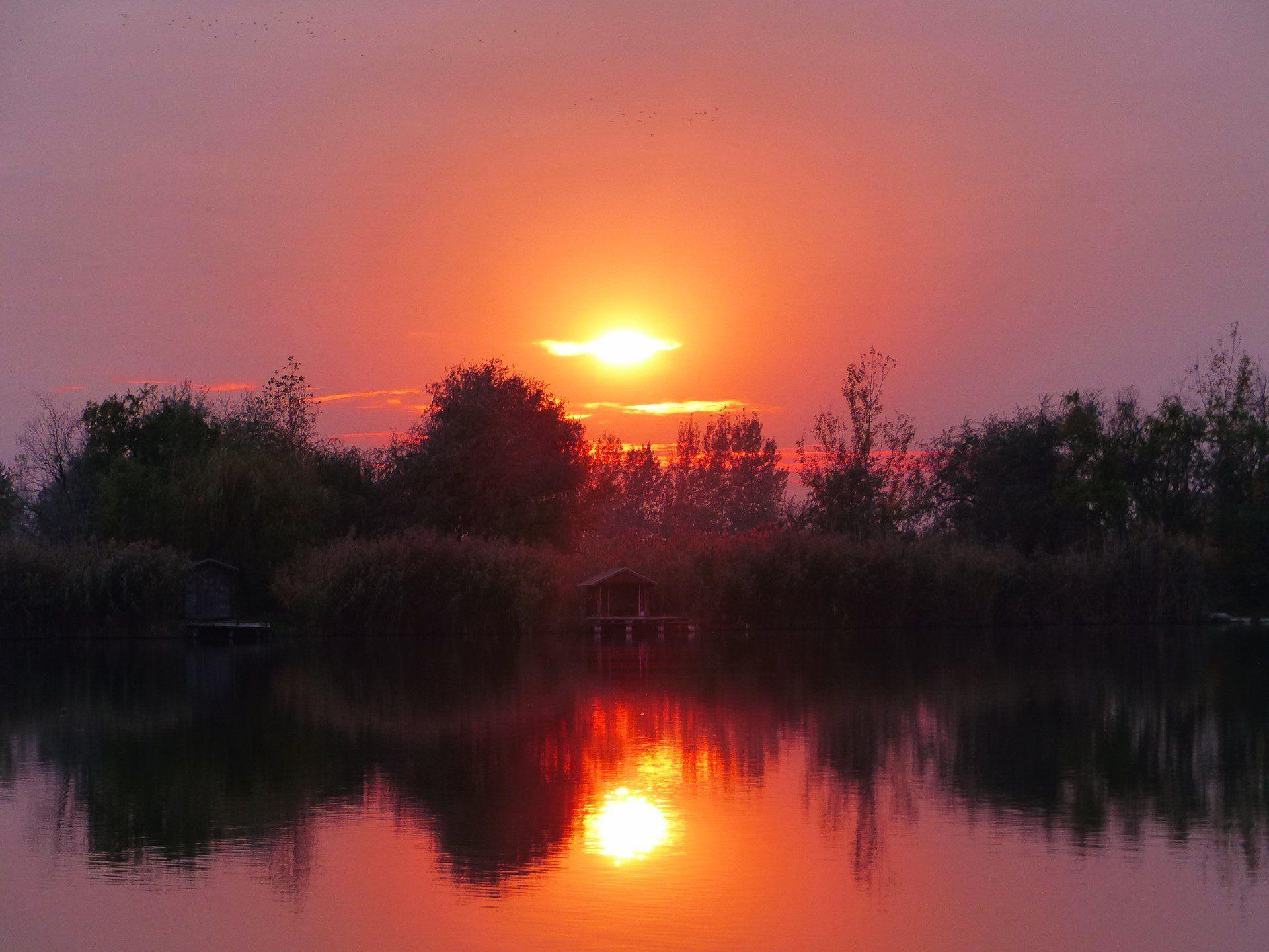 Mire minden a helyére került, a nap is lebukott az égen…