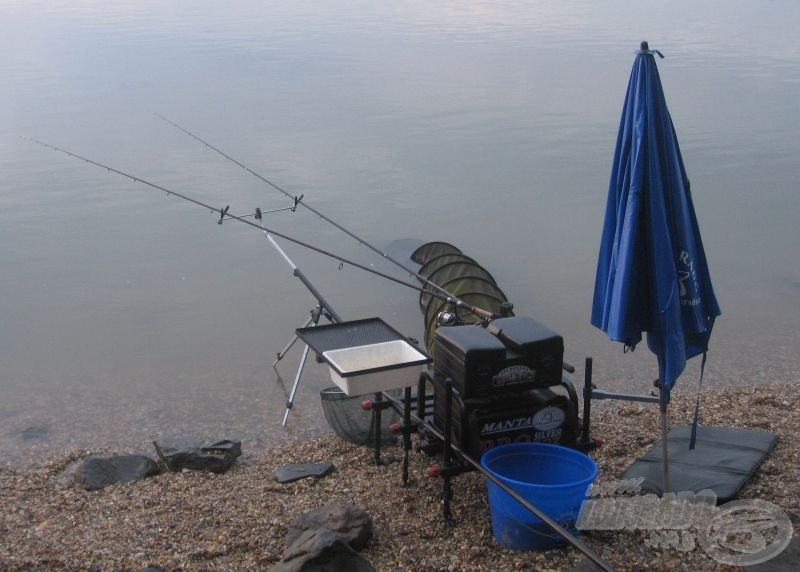 Kész horgászállásom