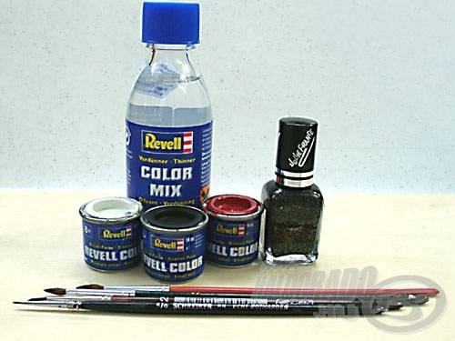 A festéshez használt anyagok