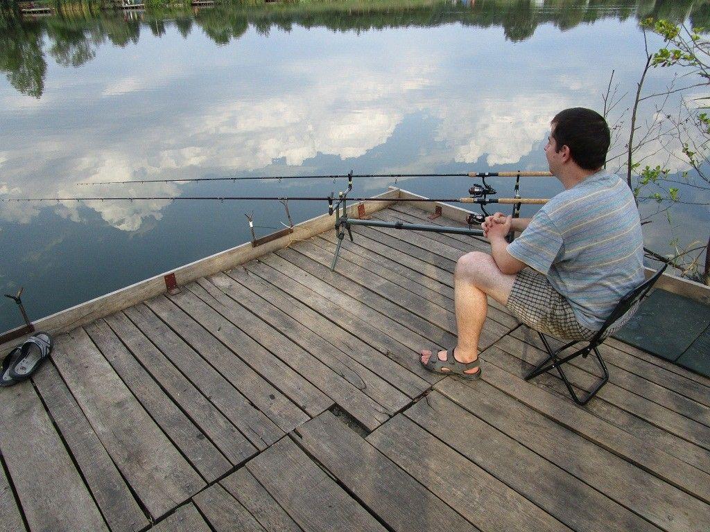 Kíváncsian vártam, vajon horogra akad nagyobb hal?