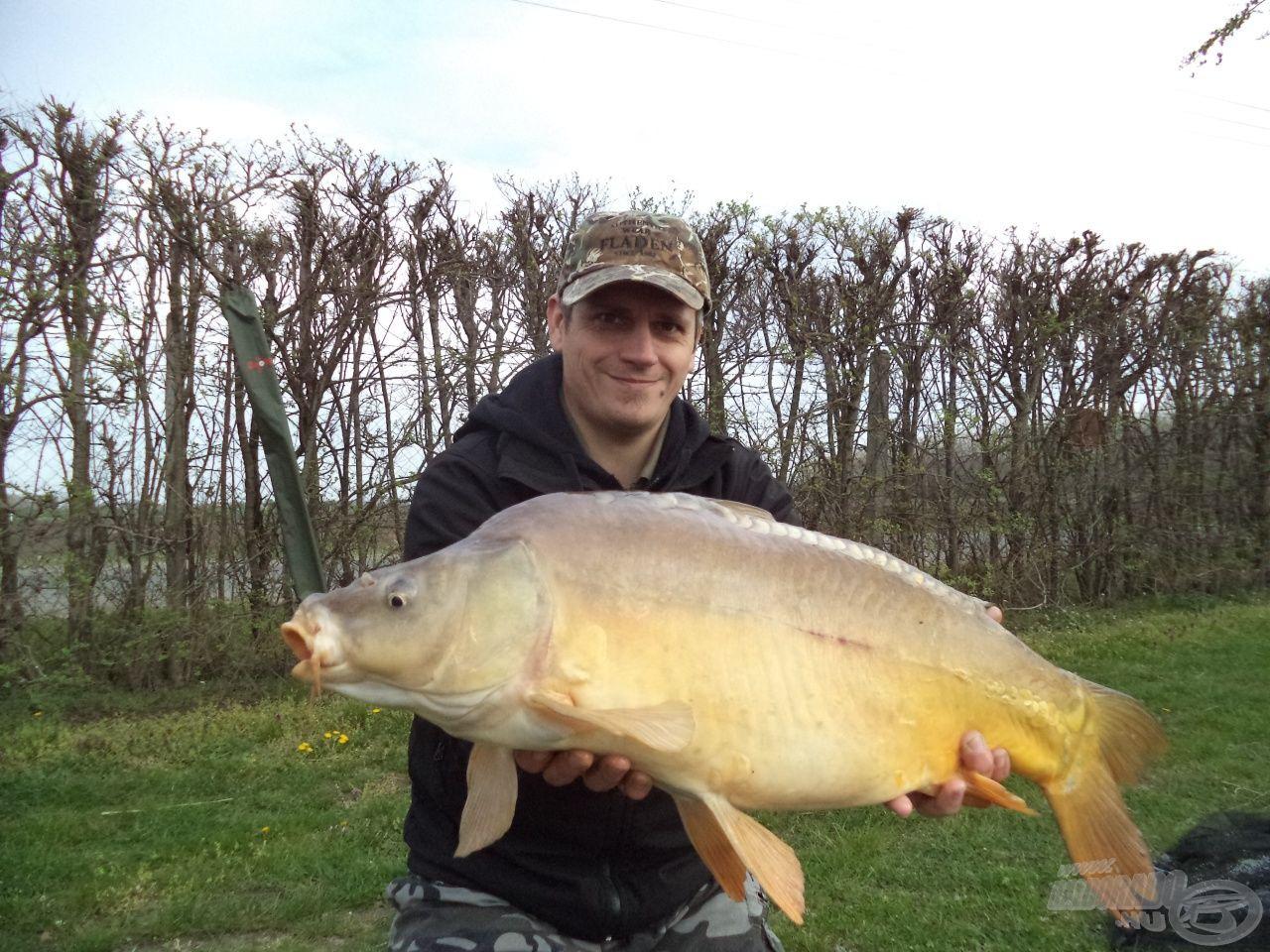 A nap első hala: 8,2 kg