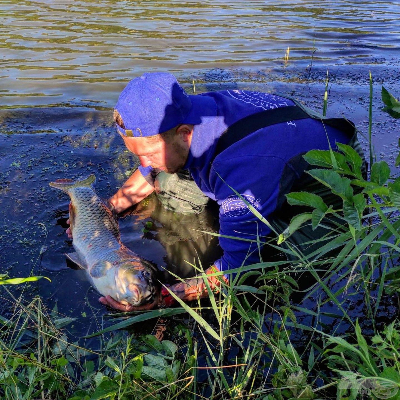 Ilyenkor az idő megáll számomra, életem részévé vált a horgászat