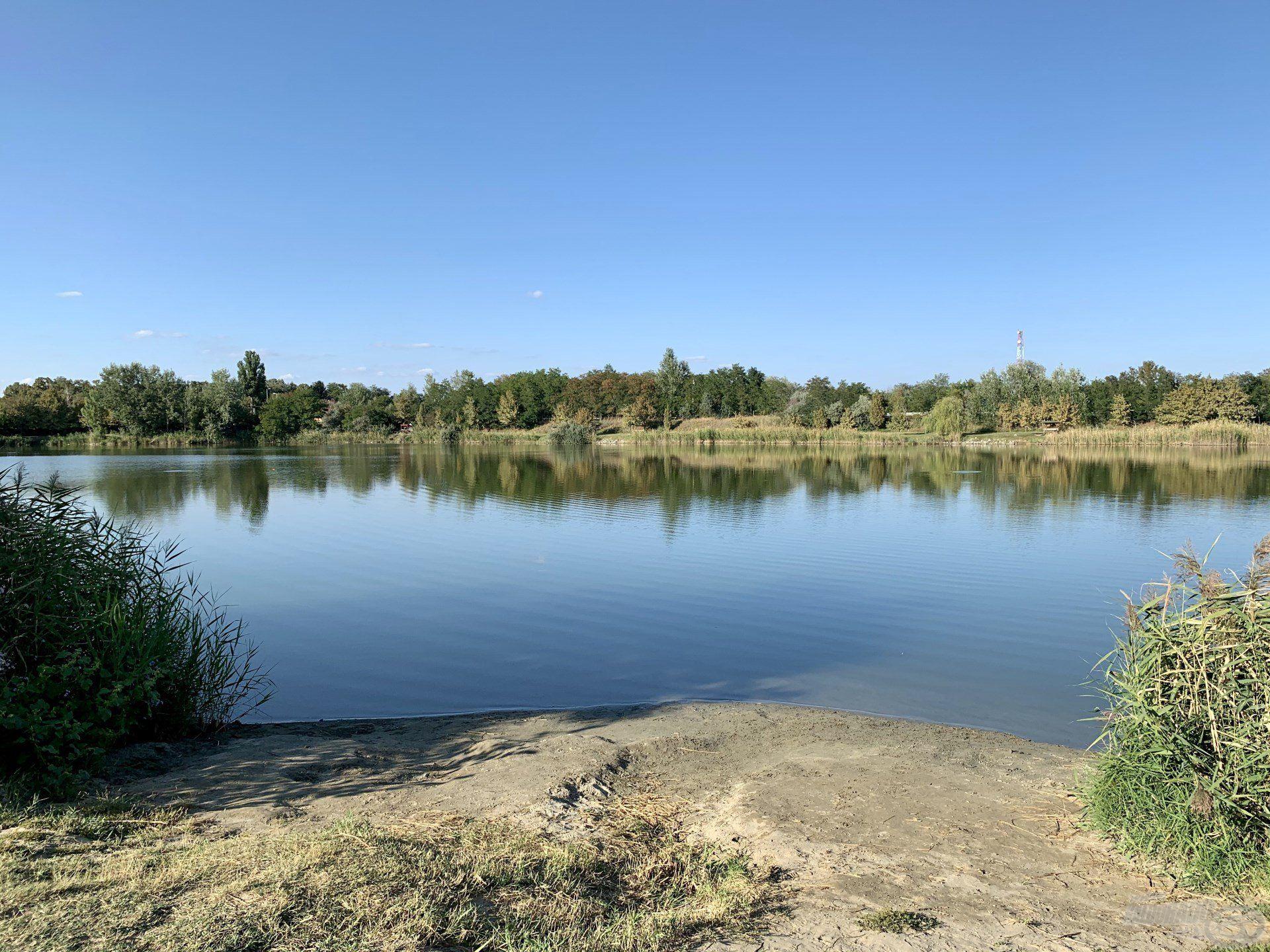 Gyönyörű ez a tó, mindig nagy élmény itt horgászni