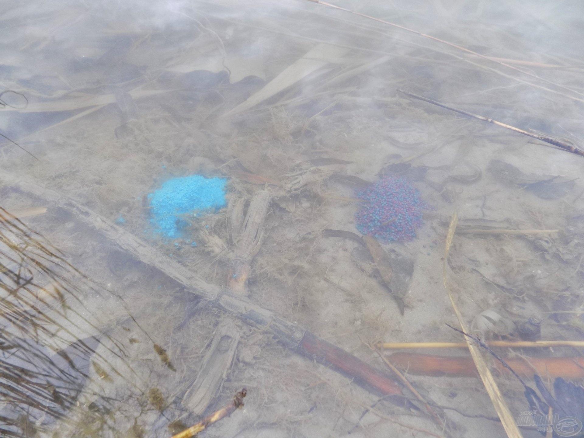Víz alatt vizuálisan két különálló egyéniség. Ha két feederbottal horgászunk, érdemes kísérletezni, soha nem tudhatjuk, mi hozza meg a sikert!