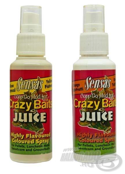 A csali ízesítésére szolgáló csali spray itt is felhasználható