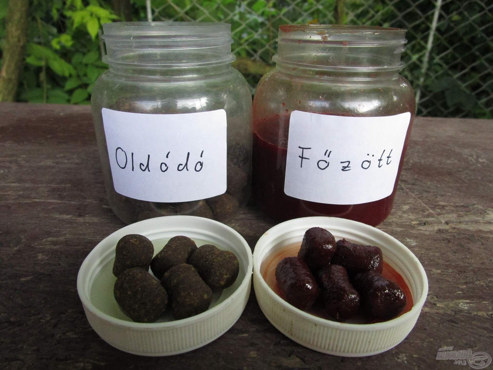 A megfelelő adalékokból és a jó minőségű aromákból akár csalikat is lehet készíteni