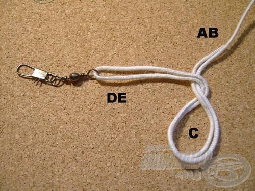 Vegyük át a (DE) szálakat az (AB)-n