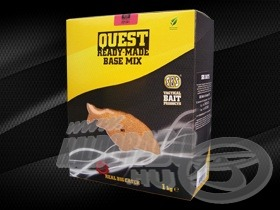 M2 Quest Ready-Made Base mix 1 kg, melynek csomagolásában minden szükséges összetevő megtalálható, csak a Cork Powdert, vagyis parafaőrleményt kell megvásárolni hozzá, hogy wafter csalit készíthessünk belőle!