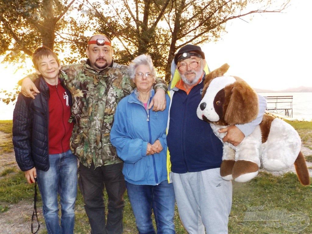 A Kálmán família, kutyabarátságban