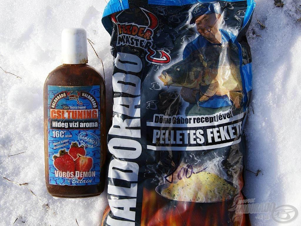 Két téli kedvencem: a Pelletes Fekete és a CSL Tuning hideg vízi aroma