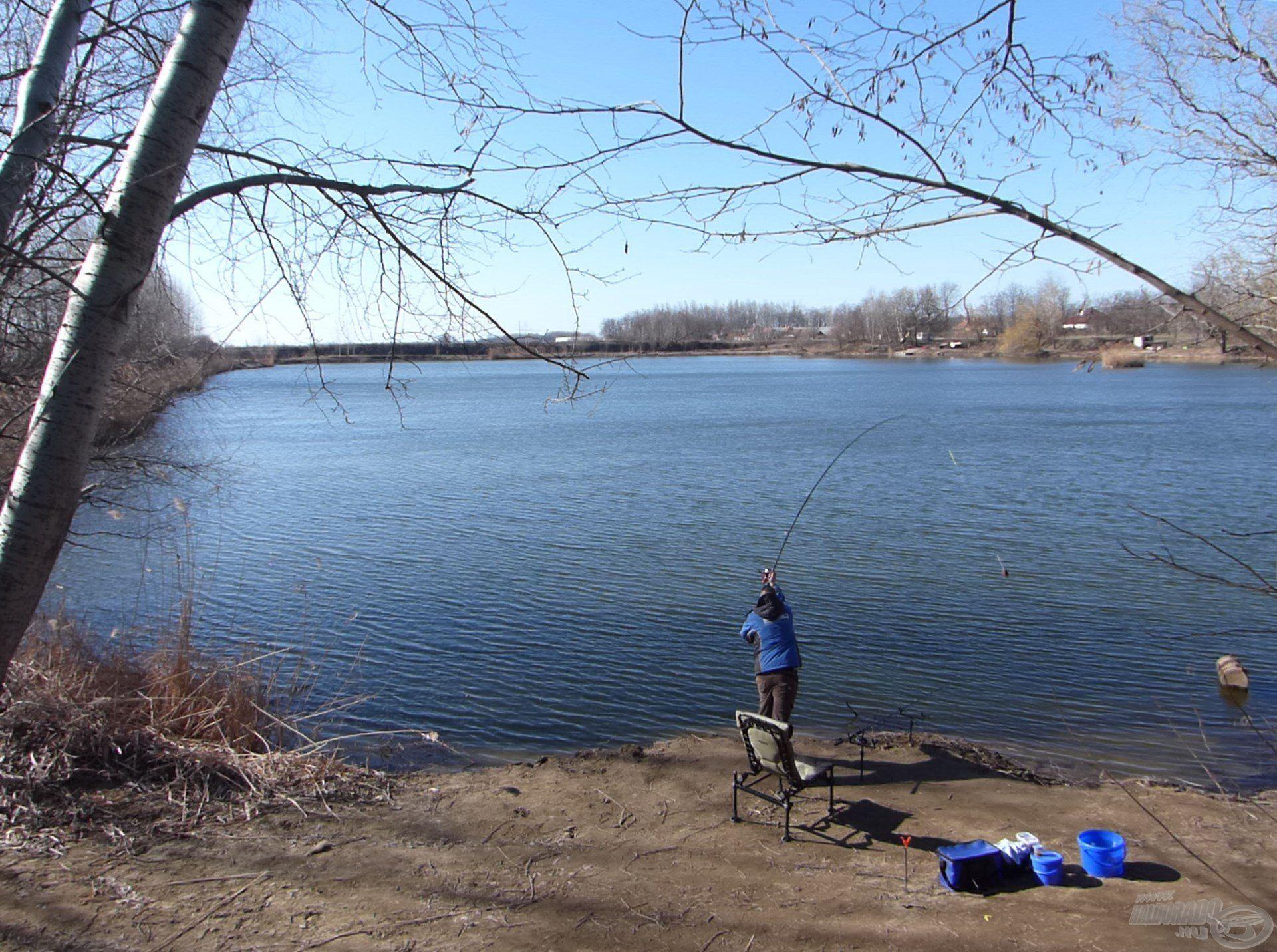 """A pontos horgászat felértékelődött. A legjobb falatok is érintetlenek maradtak, ha nem a halak """"szájába"""" dobtam"""
