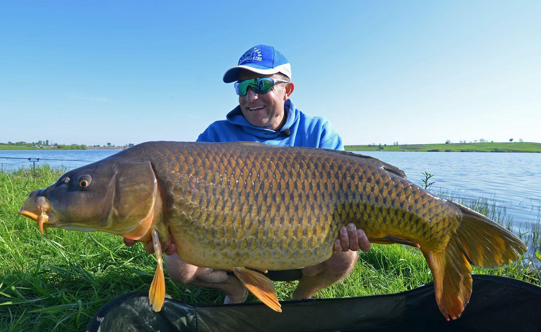 Döme Gábor eredményei magukért beszélnek, számtalan gyönyörű hal díszíti fotóalbumát