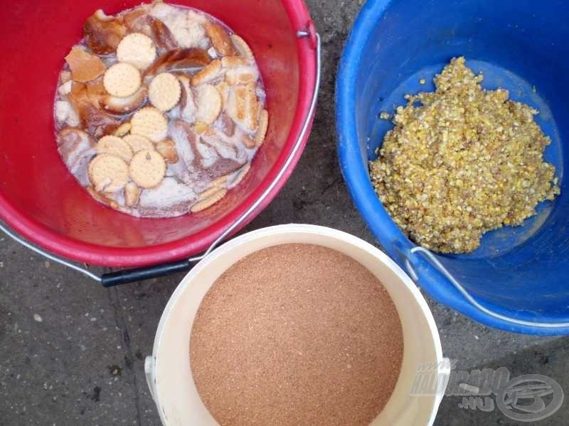 A szentháromság: a kenyér vagy kenyérfélék, a forrázott kukoricadara és az etetőanyag