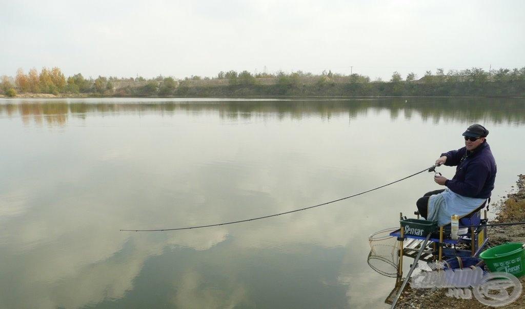 A tó nem ismeretlen a budapesti horgászok körében