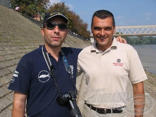 A Zenta SHE elnöke, Vujačić Dragomir Zoran Meleg bojli-királlyal