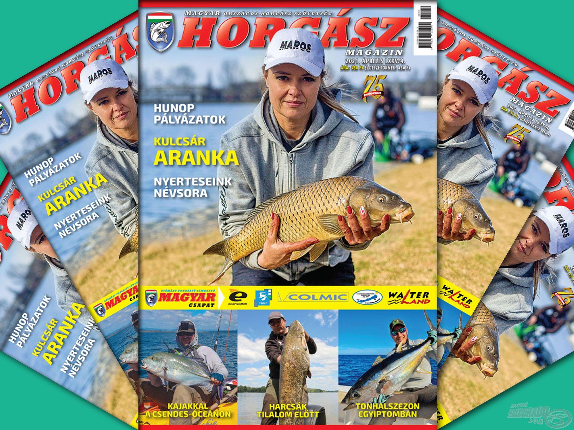 Megjelent a Magyar Horgász 2021. áprilisi száma