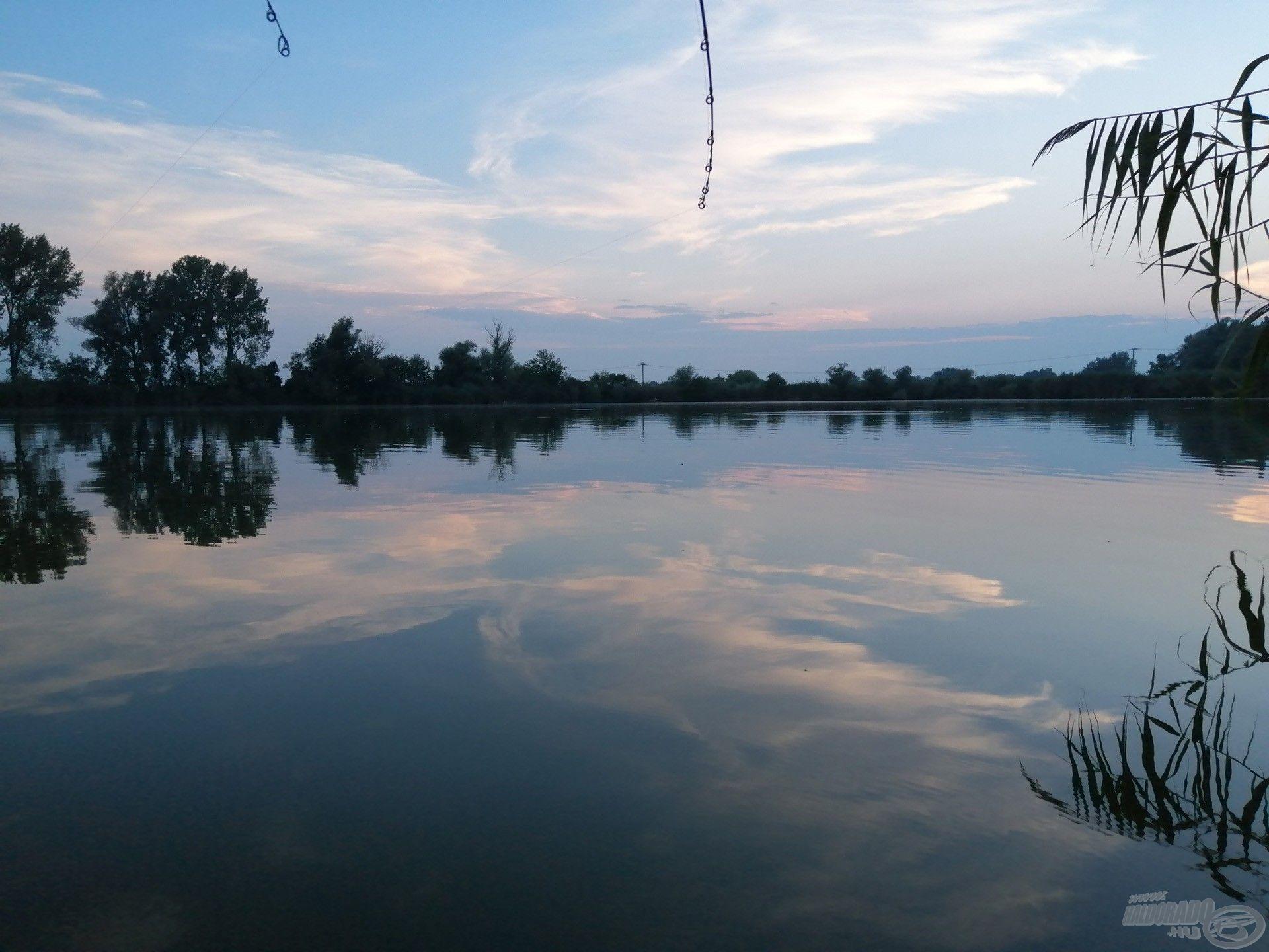 A horgászatra szánt idő vége közeledett