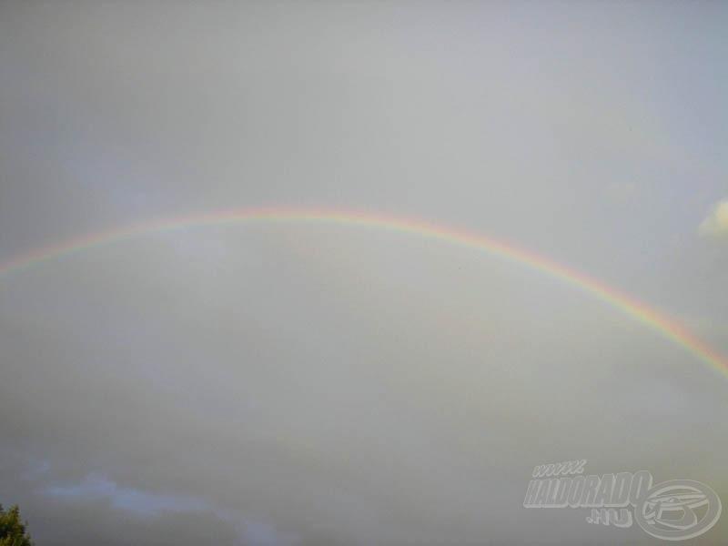 Árulkodó égi jelek: ez már az eső!