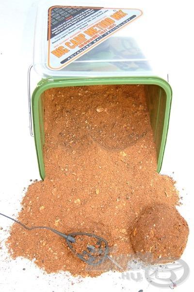 A Big Carp Nut Method Mix vörösre elszíneződő mogyorós keverék