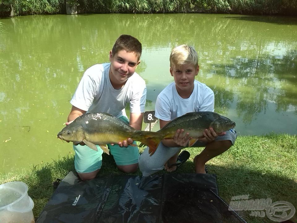 Együtt horgászunk, együtt fogunk